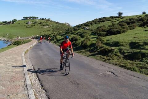 Subida a los Lagos de Covadonga en bicicleta 03/09/2020